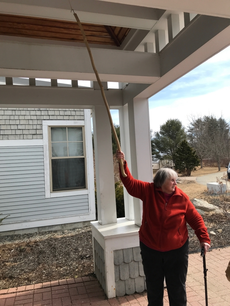 Peggy Pert, bell-ringing for the bicentennial
